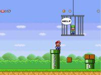 Super Mario rette Luigi