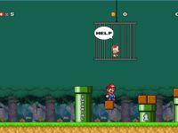 Super Mario rette Toad